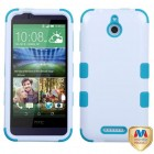 HTC Desire 510 Ivory White/Tropical Teal Hybrid Case