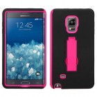 Samsung Galaxy Note Edge Hot Pink/Black Symbiosis Stand Case