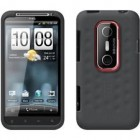 HTC Silicone Smerge for HTC EVO 3D - Gray