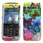 Blackberry 9100 Pearl 3G Butterfly Garden (Sparkle) Case