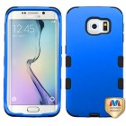 Samsung Galaxy S6 Edge Titanium Dark Blue/Black Hybrid Case
