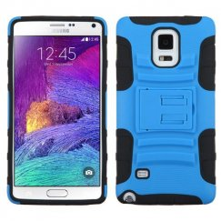 Samsung Galaxy Note 4 Dark Blue/Black Advanced Armor Stand Case