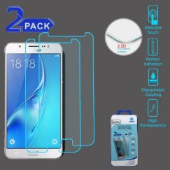 Samsung Galaxy J7 Tempered Glass Screen Protector (2.5D)(2-pack)