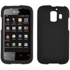 Huawei Fusion 2 U8665 Rubberized Snap-On Cover, Black