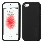 Apple iPhone SE Black/Black Hybrid Case