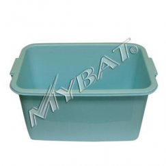 Plastic Storage Box-1# (L=16.75*W=11.50*D=9.00 inch) (Blue)