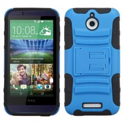 HTC Desire 510 Dark Blue/Black Advanced Armor Stand Case