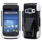 ZTE Concord 2 White Inverse Advanced Armor Stand Case