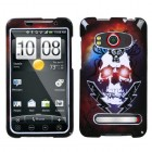 HTC EVO 4G Lightning Skull Phone Protector Cover