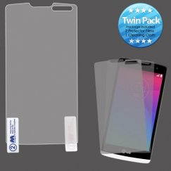 LG Leon H345 Screen Protector Twin Pack