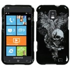 Samsung Focus S Skull Wing Phone Protector Cover