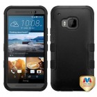 HTC One M9 Natural Black/Black Hybrid Phone Protector Cover