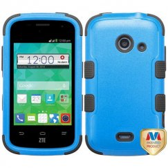 ZTE Prelude 2 / Zinger Natural Dark Blue/Black Hybrid Case