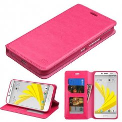 HTC Bolt Hot Pink Wallet with Tray