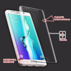 Samsung Galaxy S6 Edge Plus Screen Protector with Curved Coverage