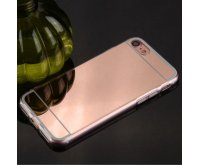 Rose Gold/Transparent Clear Gummy Cover