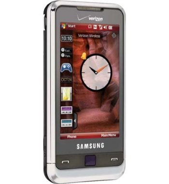 Samsung i910 Omnia Bluetooth GPS Smart Phone Verizon