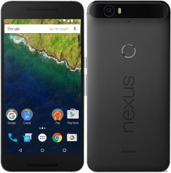 Huawei Nexus 6P H1511 32GB Android Smartphone - Tracfone - Graphite