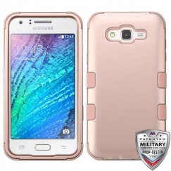 Samsung Galaxy J7 Rose Gold/Rose Gold Hybrid Case