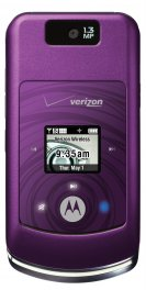 Motorola W755 Bluetooth Camera Speaker PURPLE Phone Verizon
