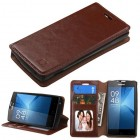 Coolpad Rogue Brown Wallet(with Tray)