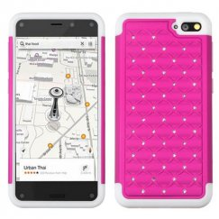 Amazon Amazon Fire Phone Hot Pink/Solid White FullStar Case