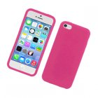 Apple iPhone 5c Silicone Skin Case Pink