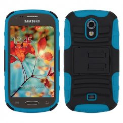 Samsung Galaxy Light Black/Tropical Teal Advanced Armor Stand Case