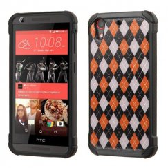 HTC Desire 555 Classic Argyle Backing/Black Astronoot Case