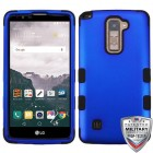 LG LG G Stylo 2 Plus Titanium Dark Blue/Black Hybrid Phone Protector Cover
