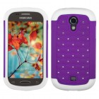 Samsung Galaxy Light Purple/Solid White FullStar Protector Cover