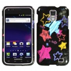 Samsung Galaxy S2 Skyrocket Chalkboard Star Black Case