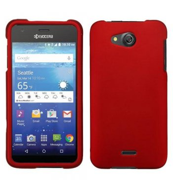 Kyocera Wave / Hydro Air Titanium Solid Red Phone Protector Cover