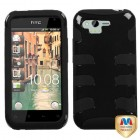 HTC Rhyme Natural Black Fishbone Case