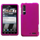 Motorola Droid 3 Titanium Solid Hot Pink Case