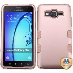Samsung Galaxy On5 Rose Gold/Rose Gold Hybrid Case