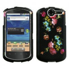 Huawei Impulse 4G Lizzo Blooming Flowers 2D Silver Case