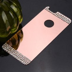 Apple iPhone 6 Diamond Electroplated Acrylic Back Plate/Rose Gold