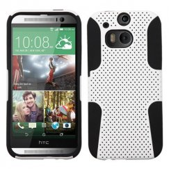 HTC One M8 White/Black Astronoot Case