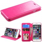 Apple iPhone 6/6s Plus Hot Pink Wallet with Tray