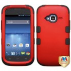 ZTE Concord 2 Titanium Red/Black Hybrid Case