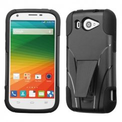 ZTE Imperial 2 Black Inverse Advanced Armor Stand Case