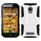 Alcatel One Touch Fierce White/Black Advanced Armor Stand Case