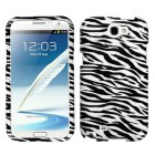 Samsung Galaxy Note 2 Zebra Skin Phone Protector Cover