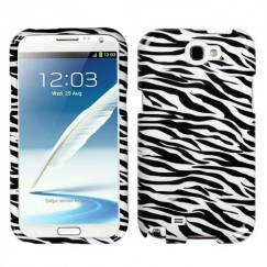 Samsung Galaxy Note 2 Zebra Skin Case