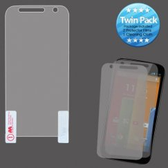 Motorola Moto G Screen Protector Twin Pack