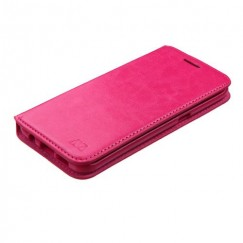 Samsung Galaxy S7 Edge Hot Pink Wallet with Tray