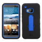 HTC One M9 Dark Blue/Black Symbiosis Stand Case