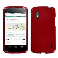 LG Nexus 4 Solid Red Case