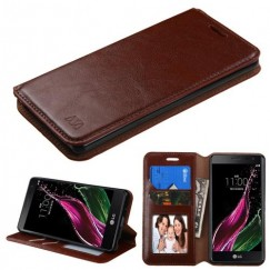 LG Class / Zero Brown Wallet with Tray